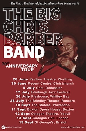 Chris Barber tours