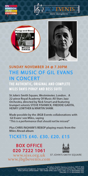 The Music Of Gil Evans In Concert