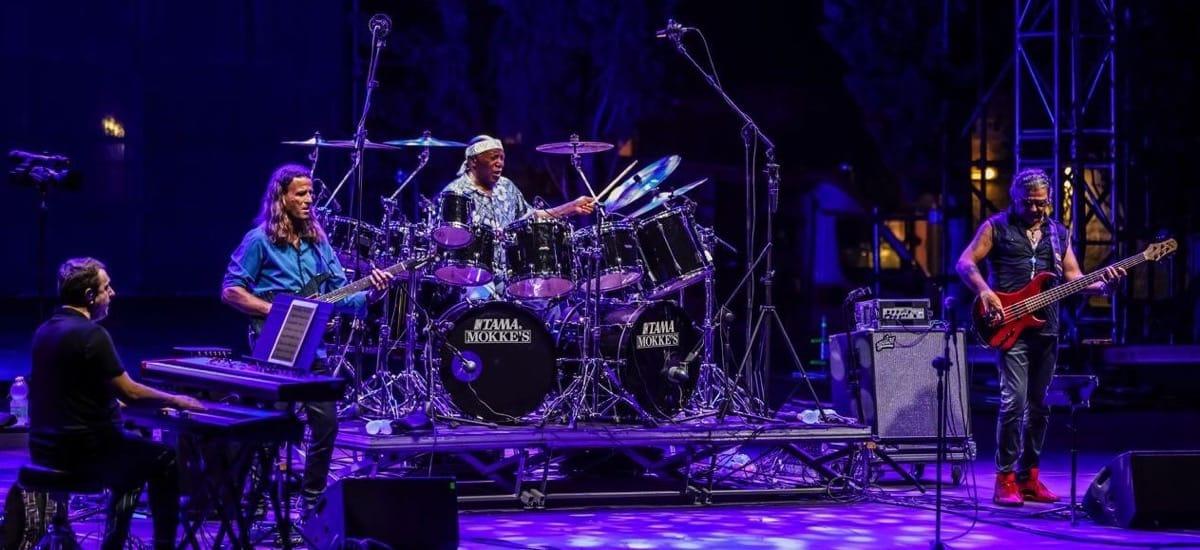 Billy Cobham Band  Europe and UK Tour Sept/Oct 2021 Billy-Cobham-band-at-Sicilia-Jazz-2021-Billy-Cobham-Band-Jean-Marie-Ecay-chitarra-Fifi-Chayeb-basso-Steve-Hamilton-tastiere-by-Arturo-DiVita-1200px
